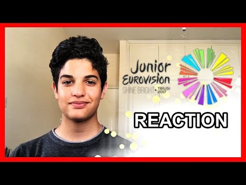 NEW! Junior Eurovision REACTION - JESC 2017 [All 16 songs]