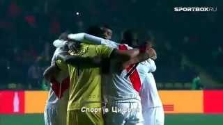 Кубок Америки 2015, Перу - Парагвай, голы