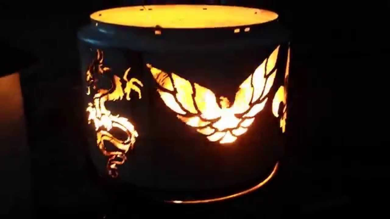 Beautiful Fire Ring In Use Youtube