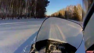 Первый раз на снегоходе YAMAHA VIKING VK540