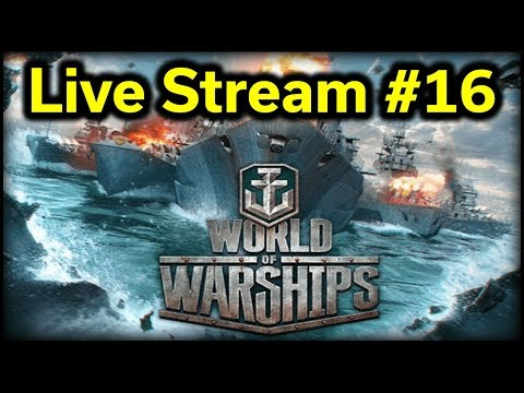 World of Warships - Stream #16 - FREE Premium Ships!