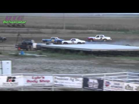 Econo Heat Race Thomas County Speedway 9-4-15