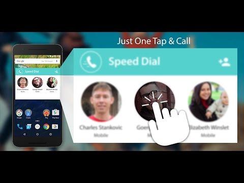 Speed Dial Widget Android App