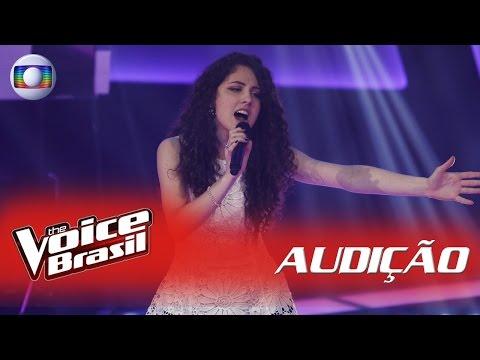 Laura Dalmas canta 'Nada Sei' nas Audições - 'The Voice Brasil'|5ª Temporada