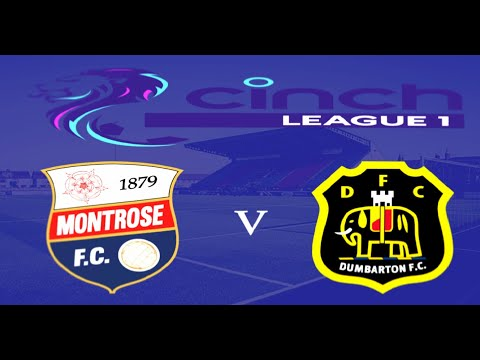 Montrose Dumbarton Goals And Highlights
