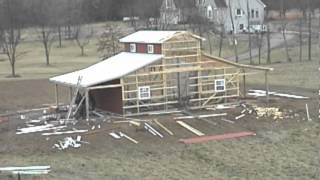 Qsi Monitor Barn Construction