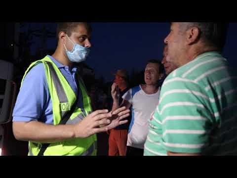 Moy gorod: Мой город Н: перекрытие на Железнодорожной, люди просят поставить туалеты для водителей фур