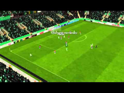 R. Betis - Granada - Gol de Chicharito Hern�ndez 17 minutos