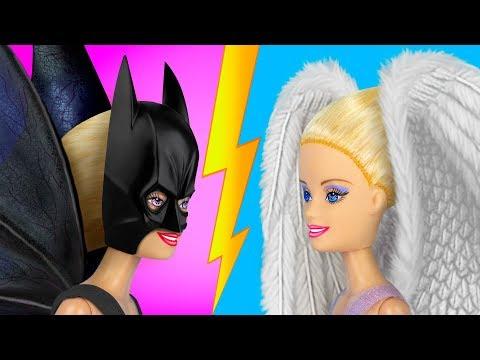 13 Barbie Clothes Hacks / DIY Barbie Outfits