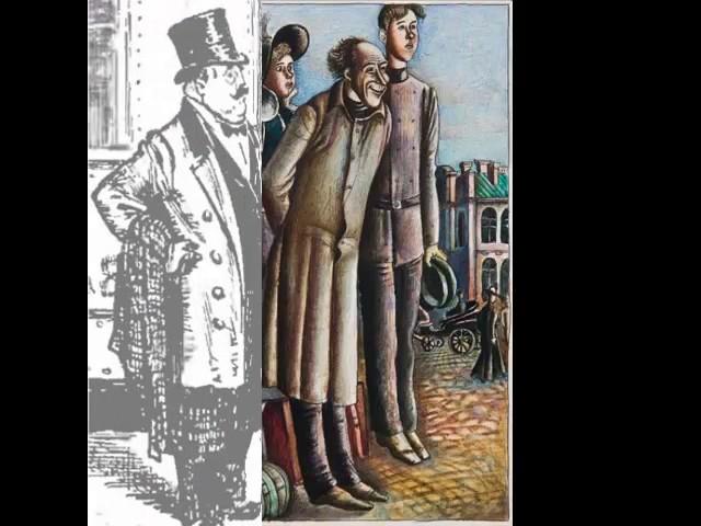 Изображение предпросмотра прочтения – AidarGataullin представляет буктрейлер кпроизведению «Толстый и тонкий» А.П.Чехова