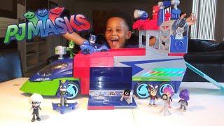 Краще навчальне відео по іграшкам Pj Masks врятує день в нових іграшкових іграшках GIANT pj.