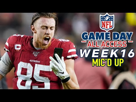 "NFL Week 16 Mic'd Up, ""Ayyye put your big boy boots on!"" 
