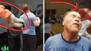 Arnold Schwarzenegger ATTACKED FROM BEHIND | Social Coach's 'Analysis'