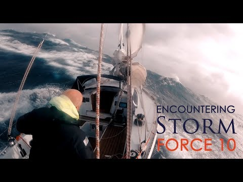 Encountering Storm Force 10