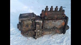 Осмотр топливной аппаратуры ДТ 75 перед регулировкой