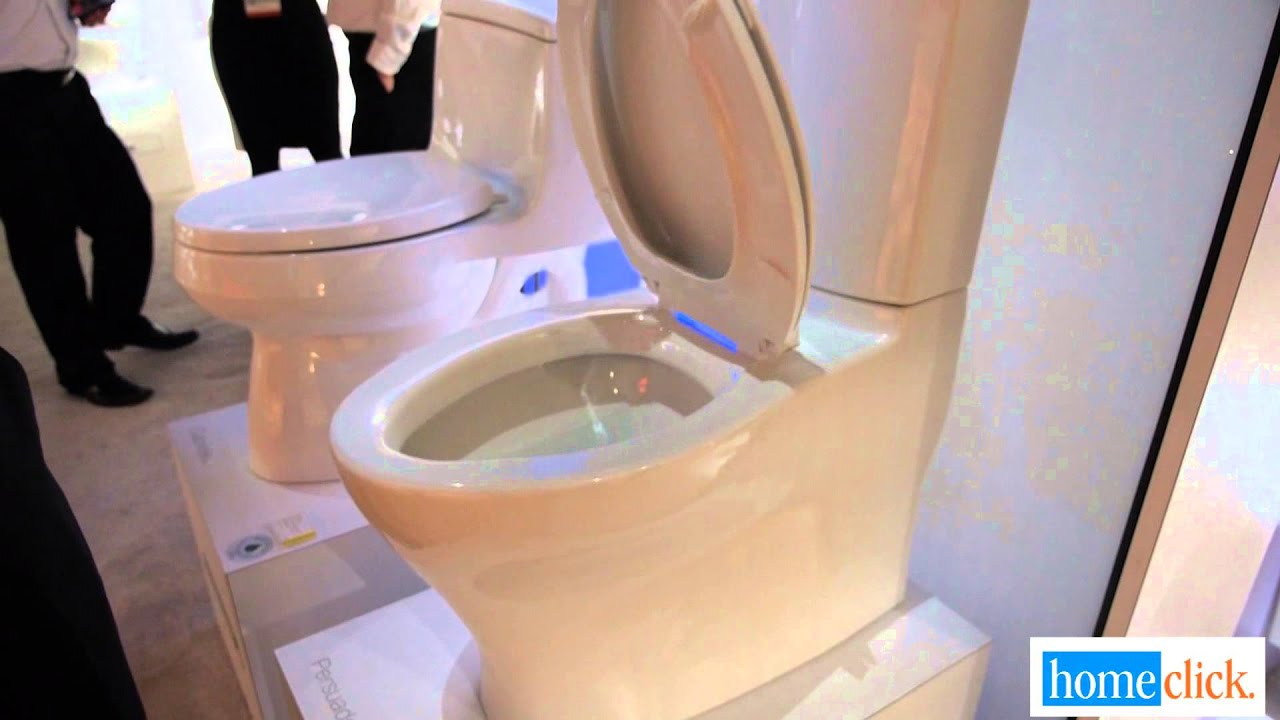 Best Of Kbis 2014 Lighted Toilet Seat From Kohler Youtube