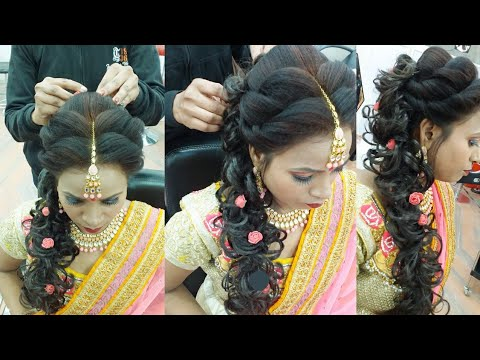 Ring Ceremony Hairstyle Step By Step Only 10 Minutes Ma Youtube
