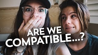 TAKING A COMPATIBILITY TEST || Angel and Nicole