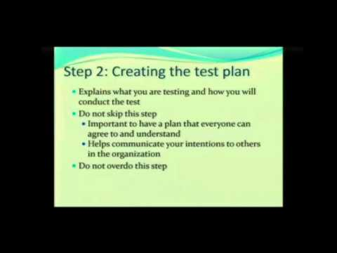Usability Testing Step 2: Creating a Test Plan