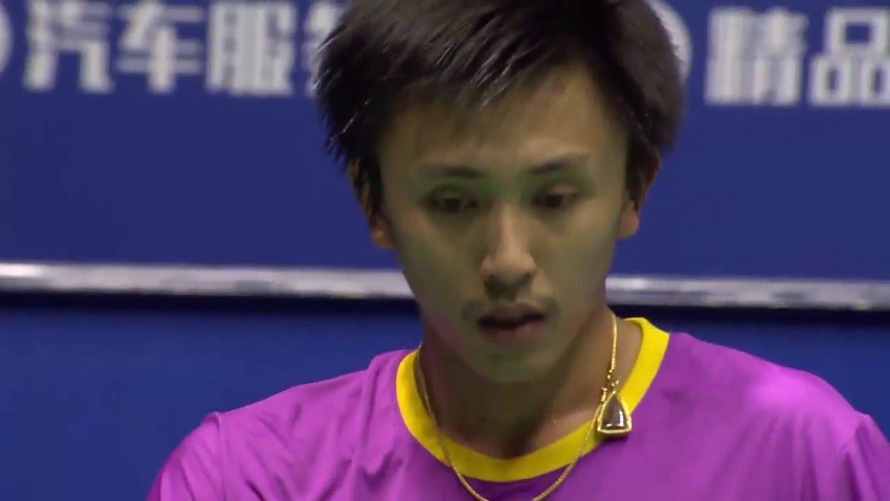 Bonny China Masters 2016 Badminton SF M5 MS