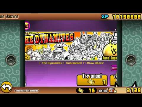 (Special)The Battle Cats - 3,000 Cat Foods in Dynamite