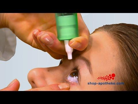 Bindehautentzündung? Weleda Euphrasia D3 verschafft geröteten Augen Linderung