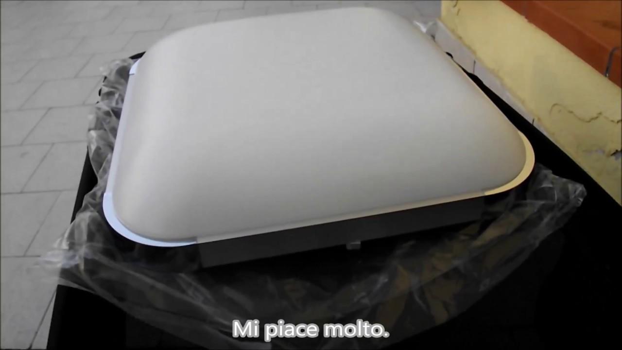 Plafoniera Led Da Soffitto : Lampada plafoniera a led da soffitto quadrata 36w cambia colore