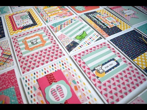 25 Cards with 6x6 Pad Echo Park Summer Dreams for Scrapbooking with ME
