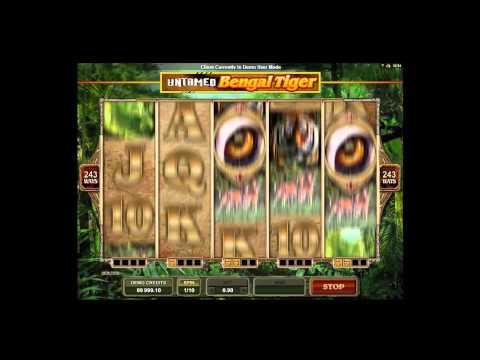 Untamed Bengal Tiger Slots - Bitcoin Casino Games