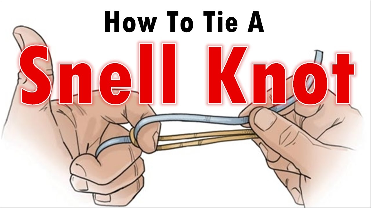 How to tie a fishing knot how to tie a snell knot youtube for How to tie a knot in fishing line