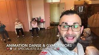 Animations Danse & Gym Seniors en EMS à Genève