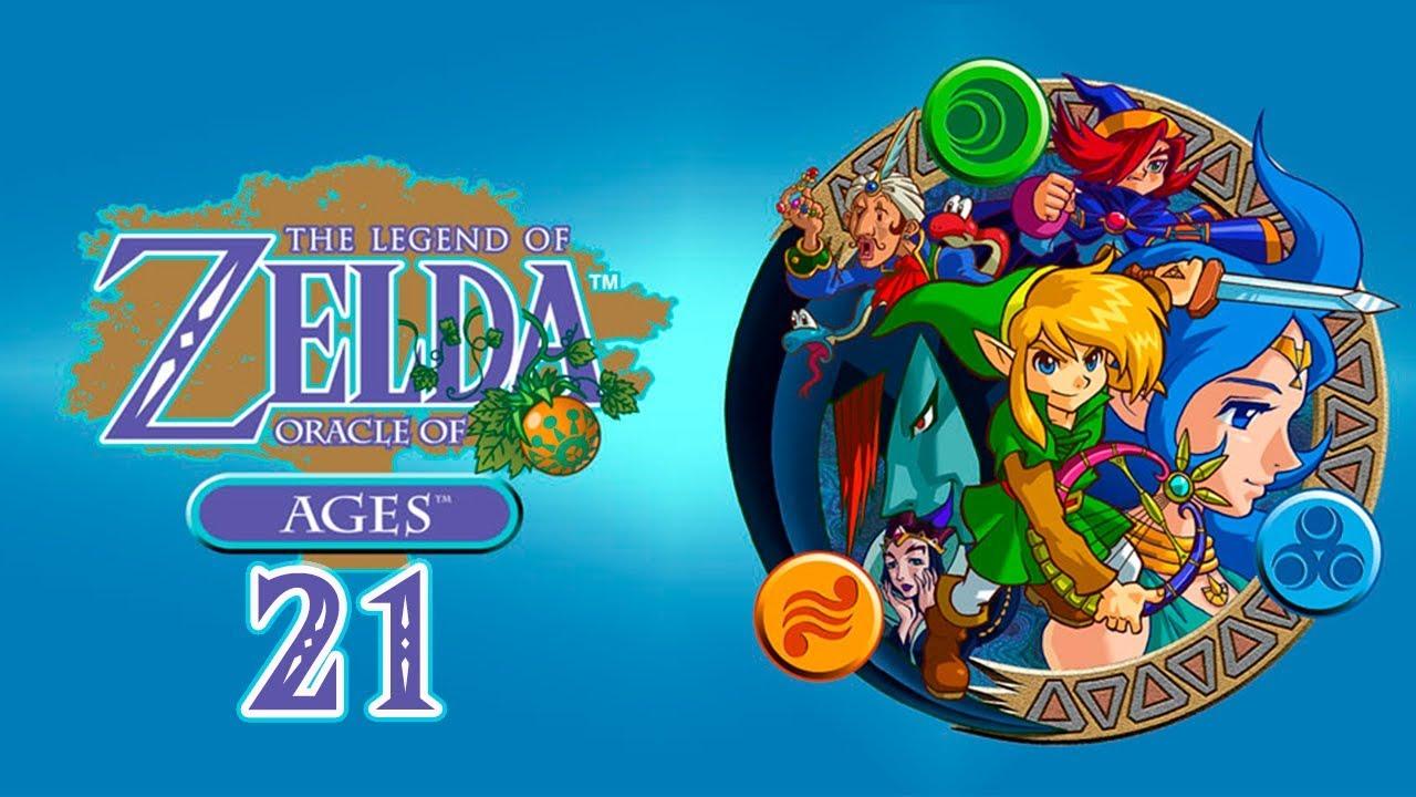 The Legend of Zelda: Oracle of Ages - Cap. 21 - La Gruta de las Sirenas