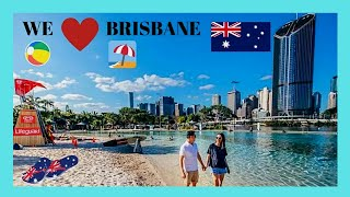 BRISBANE, spectacular STREETS BEACH and SOUTH BANK PARKLANDS, AUSTRALIA