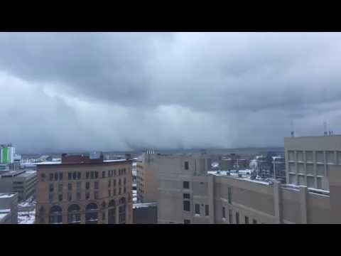 Watch Buffalo's Lake-Effect Storm In Thirty Seconds