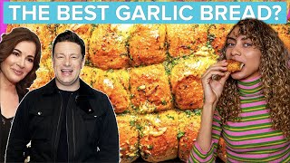 Which British Chef Makes The Best Garlic Bread?