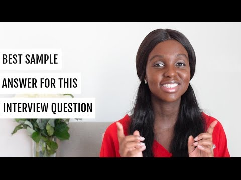 Tell me about yourself interview answer example