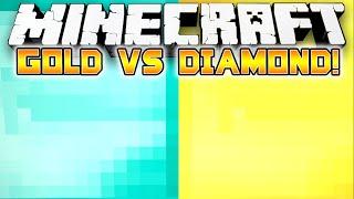 Minecraft: DIAMOND VS GOLD SPEED PARKOUR! - w/Preston & Kenny!