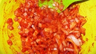 Spicy Onion Relish  INDIAN RECIPES
