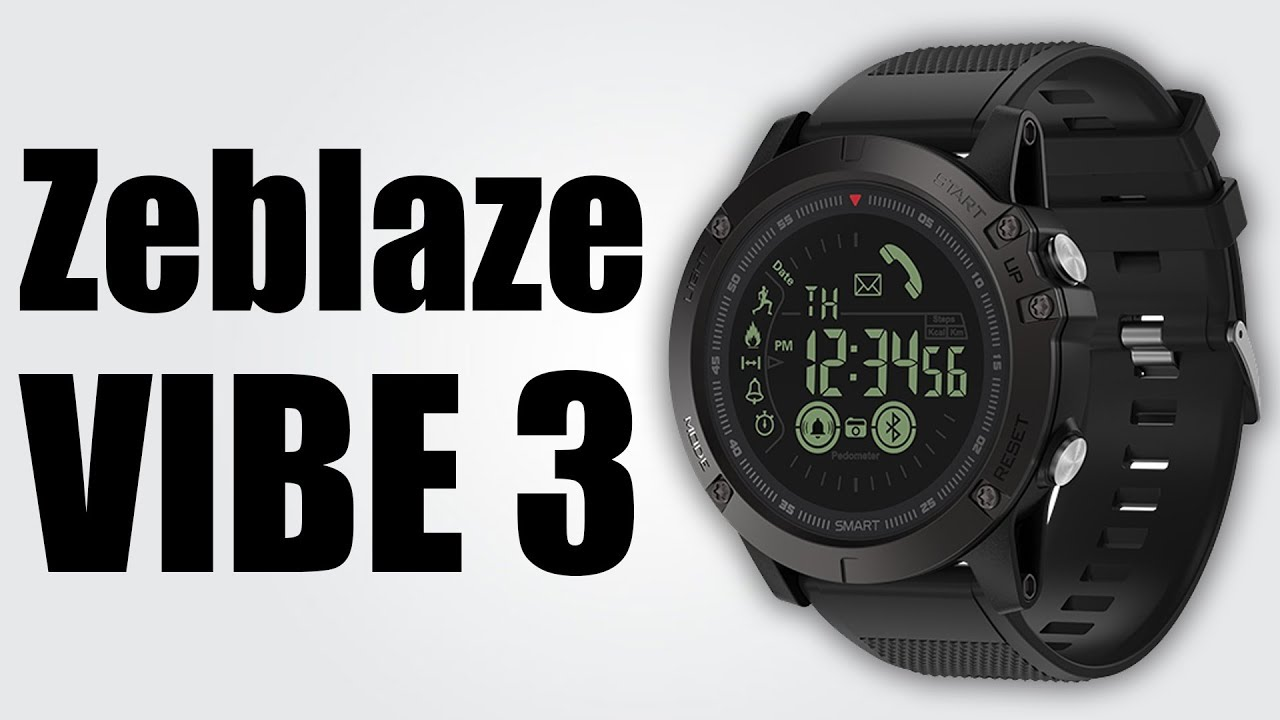 Zeblaze Vibe 3 Ip67 50m Bluetooth 4 0 610mah Battery 990