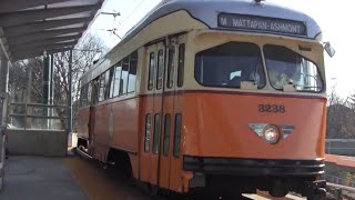 ᴴᴰ MBTA Ashmont-Mattapan Trolley Action at Ashmont