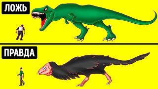 Динозавры выглядели совсем не так, как показано в кино, и другие 30 мифов, в которые мы верим
