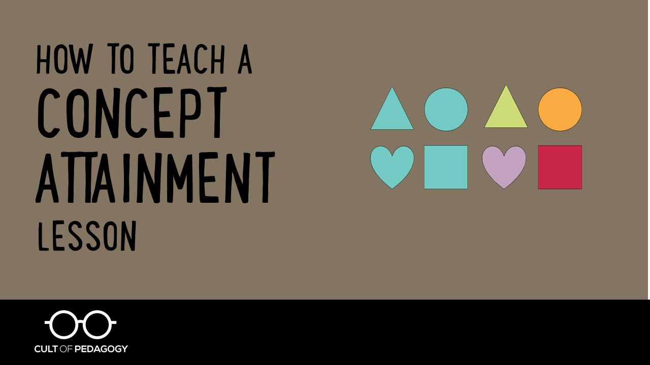 How To Teach A Concept Attainment Lesson  Youtube