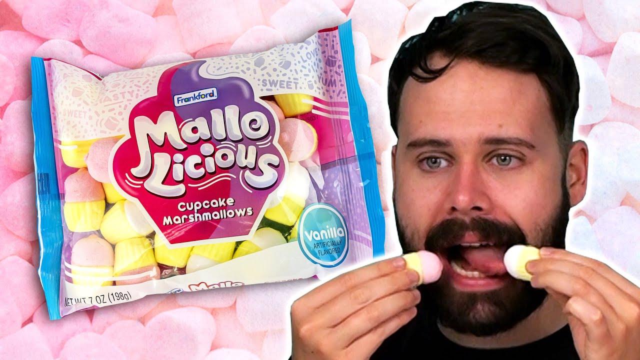 Irish People Try American Marshmallows
