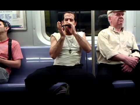 Jason Novak, Insane Harmonica Skills on the Subway.