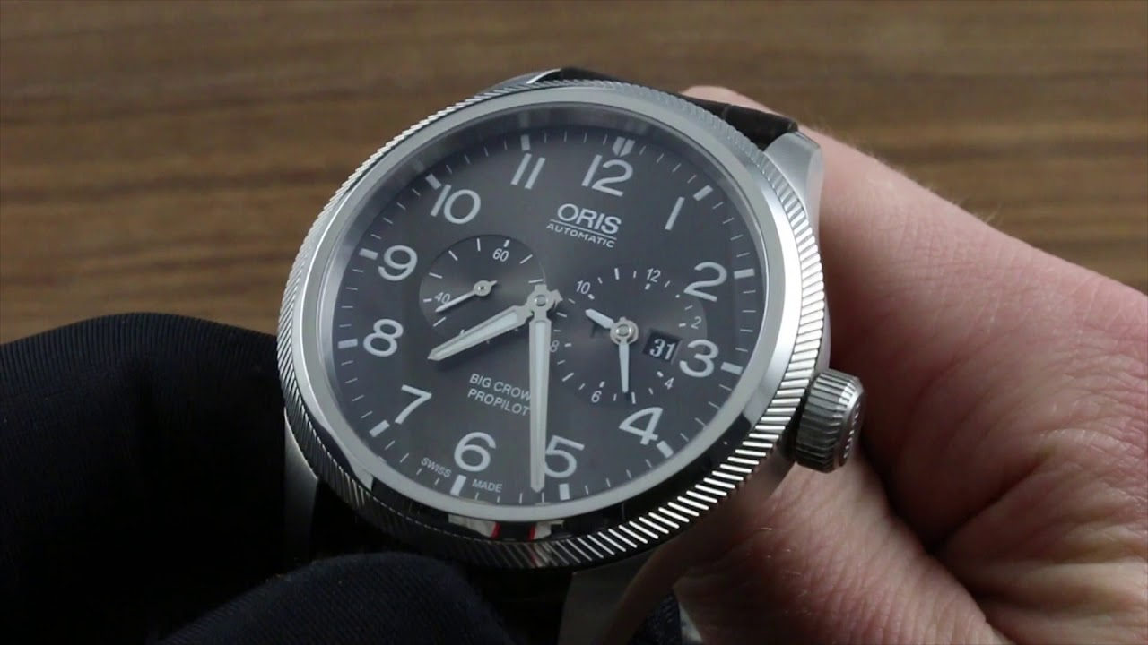 Oris Big Crown Propilot Worldtimer Functions   Care - YouTube 10ad5ecf5cc