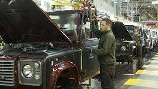 Land Rover Defender Production