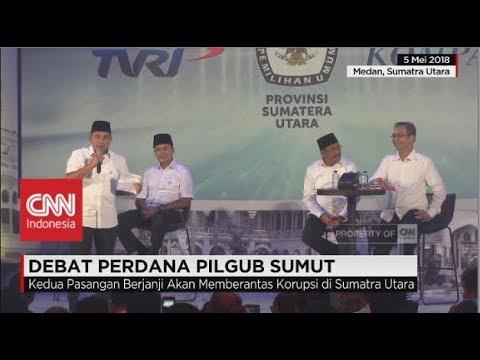 Debat Publik Perdana Pilgub Sumut