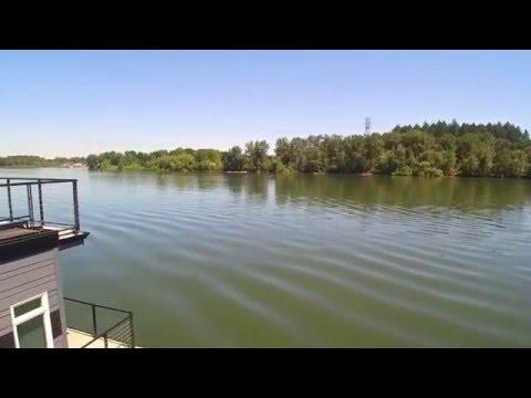 Floating Home Slip For Sale Willamette River Oregon - YouTube