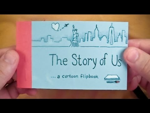The story of us a cartoon flipbook youtube the story of us a cartoon flipbook solutioingenieria Image collections