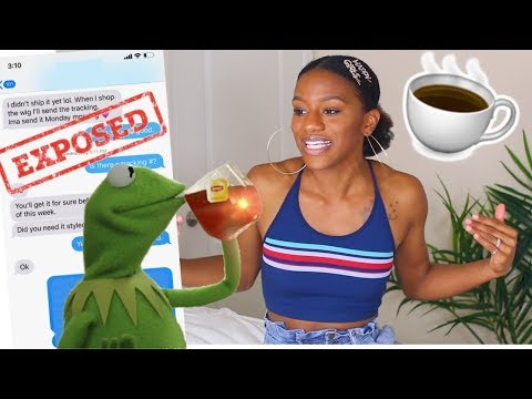 SPILLING TEA ON A CELEBRITY HAIRSTYLIST! ☕️NATURAL HAIR HORROR STORY!